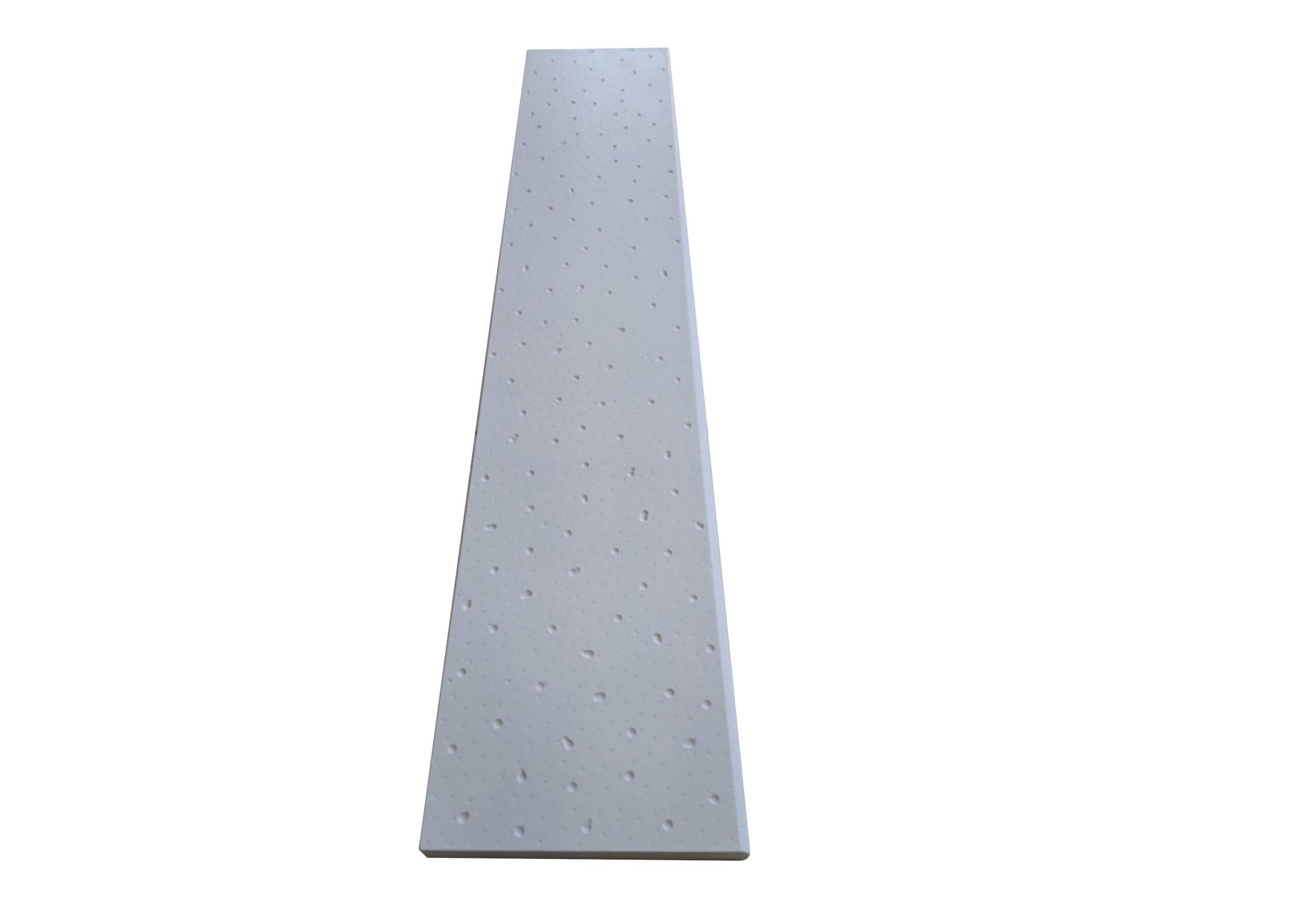 Borda de Piscina Gotas 100X20 - Revestimento cimenticio 3D